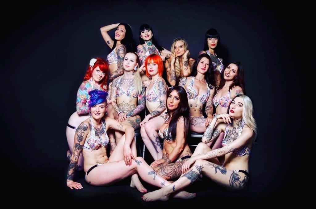 Photo officiel Miss Tatoo 2018