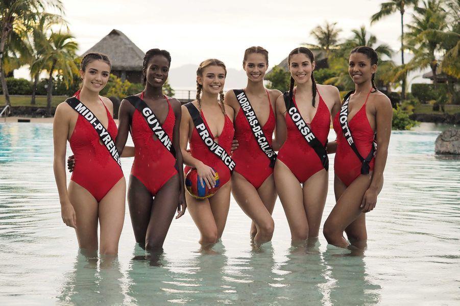 Les candidates à Miss France 2020 portent le 1 pièce Dentelle Rouge Collection 2020