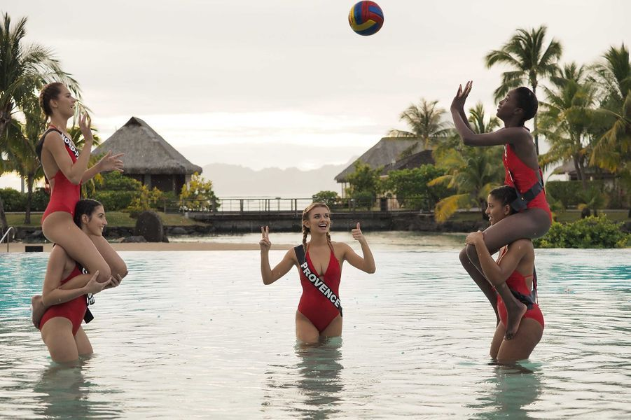 Partie de Volley Ball à Tahiti pour nos candidates 2020